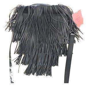 Mossimo Black Fringe Purse